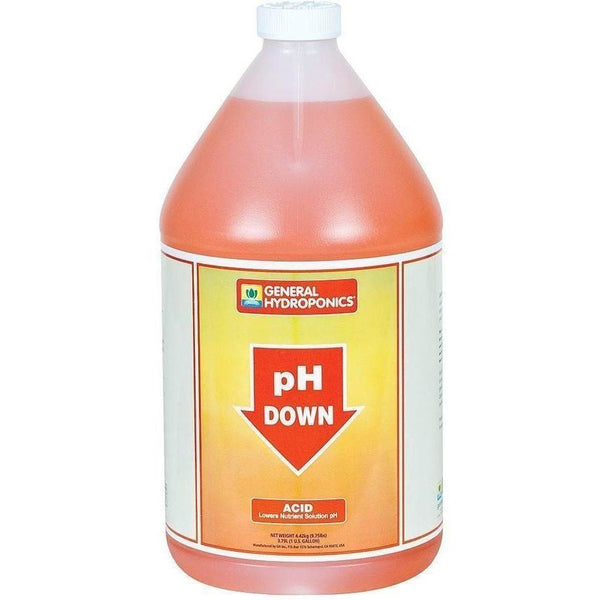 General Hydroponics® pH Down, gal
