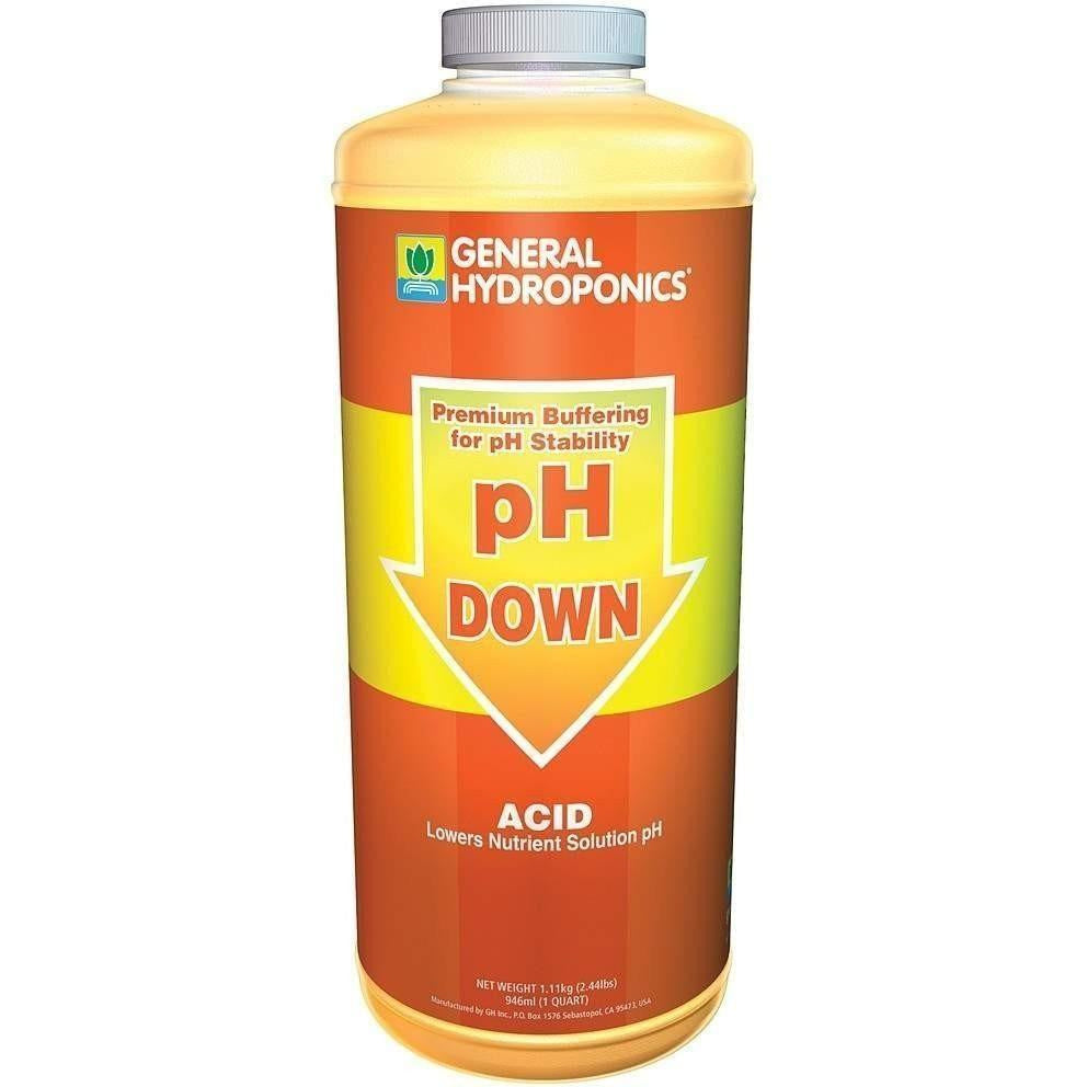 General Hydroponics® pH Down, qt