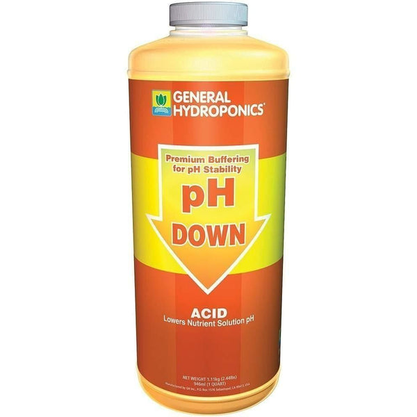 General Hydroponics® Ph Down Qt Nutrients | Control