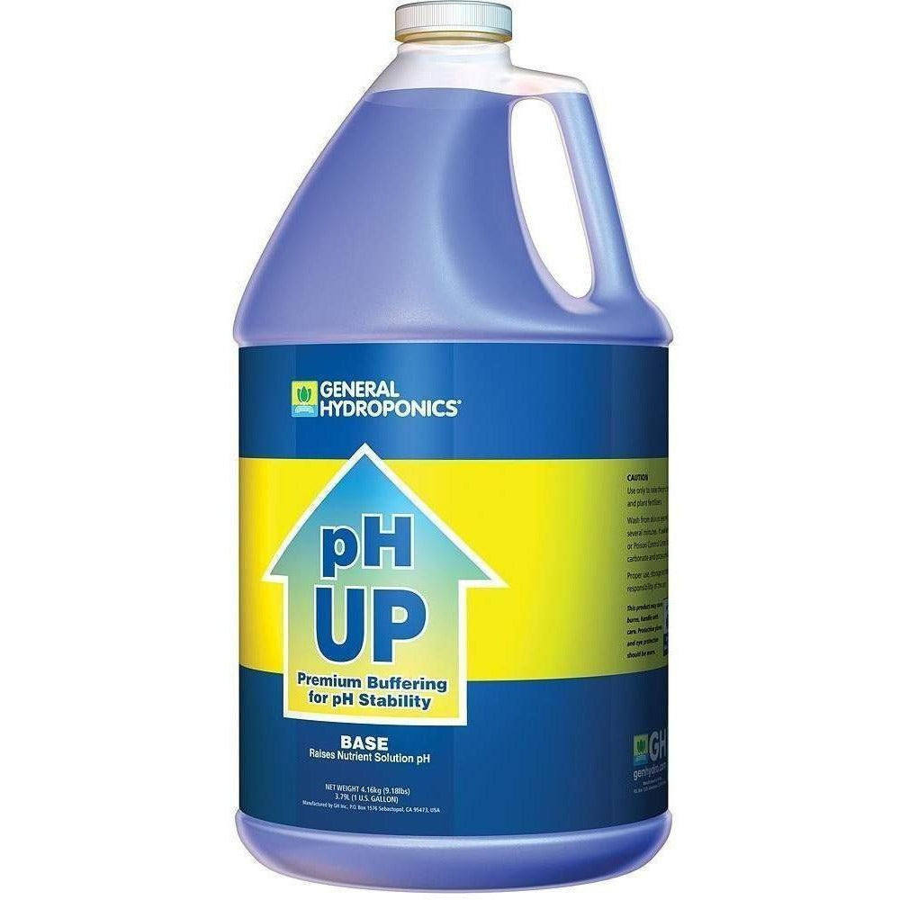 General Hydroponics® pH Up, gal