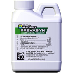 General Hydroponics® Prevasyn Insect Repellant / Insecticide, 4 oz