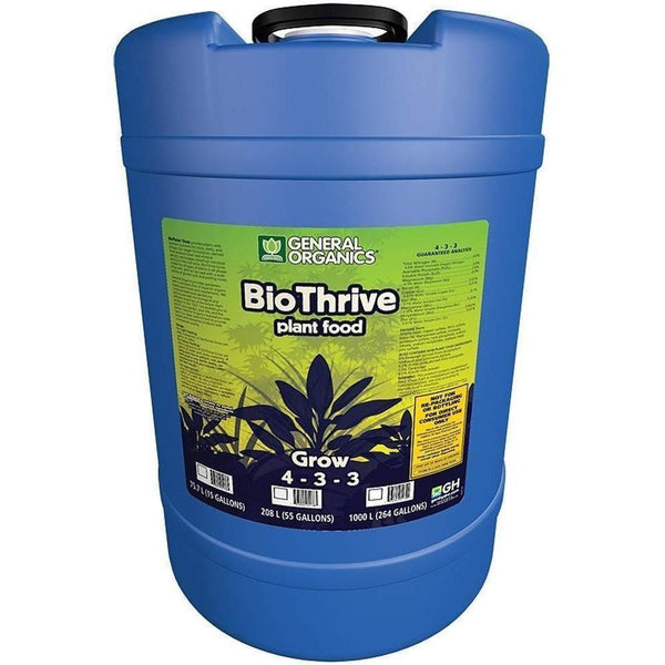 General Organics® BioThrive® Grow, 15 gal