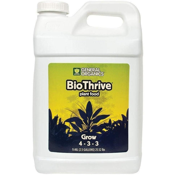 General Organics® Biothrive® Grow 2.5 Gal Nutrients | Liquid