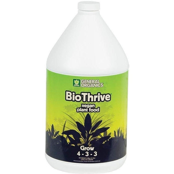 General Organics® Biothrive® Grow Gal Nutrients | Liquid