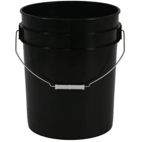 Gro Pro® Black Plastic Bucket 5 Gal Harvest | Food Storage