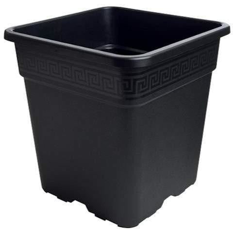 Gro Pro® Black Square Pot, 2 gal
