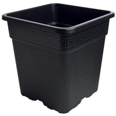 Gro Pro® Black Square Pot, 8 gal