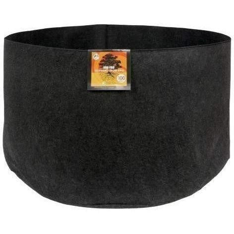 Gro Pro® Essential Round Fabric Pot Black, 100 gal