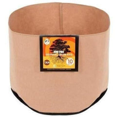 Gro Pro® Essential Round Fabric Pot Tan, 1 gal | Special Order Only