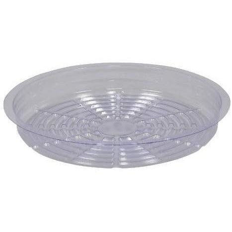 Gro Pro® Premium Clear Plastic Saucer, 10"
