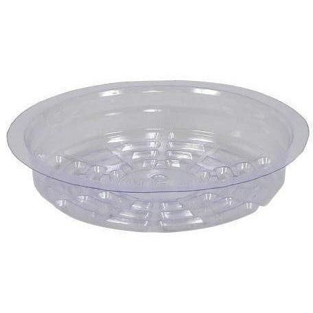 Gro Pro® Premium Clear Plastic Saucer, 6"