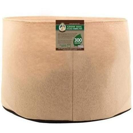 Gro Pro® Premium Round Fabric Pot Tan 300 Gal Containers | Grow Bags