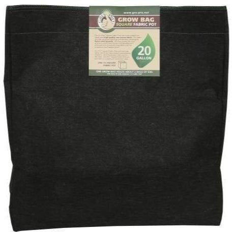 Gro Pro® Square Fabric Pot 20 Gal | Special Order Only Containers Grow Bags