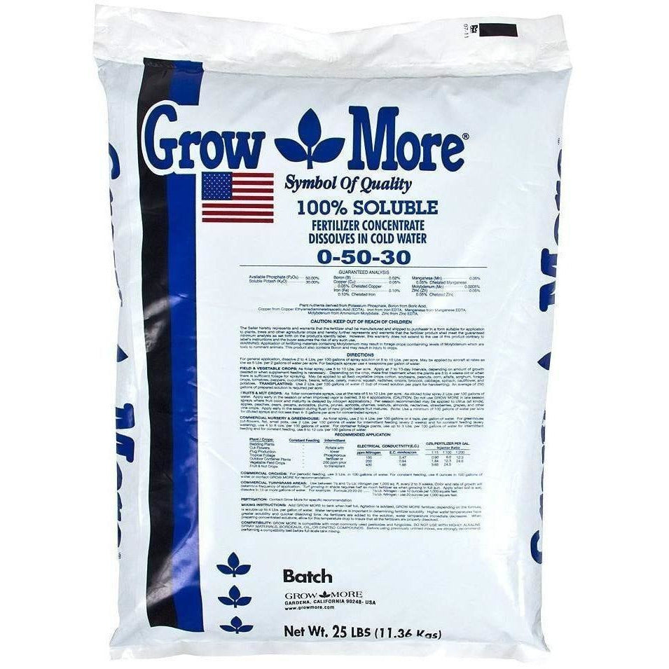 Grow More® Flower Hardener, 25 lb