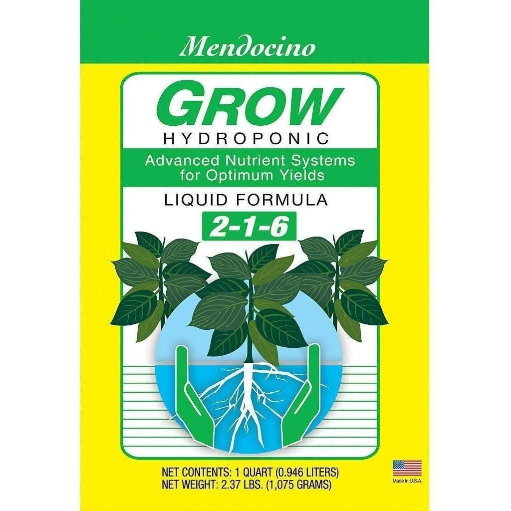 Grow More® Mendocino Grow Hydroponic, qt
