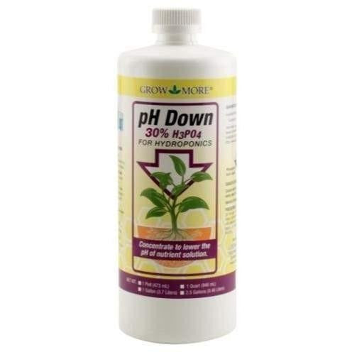 Grow More® Ph Down 30% Qt | Special Order Only Nutrients Control