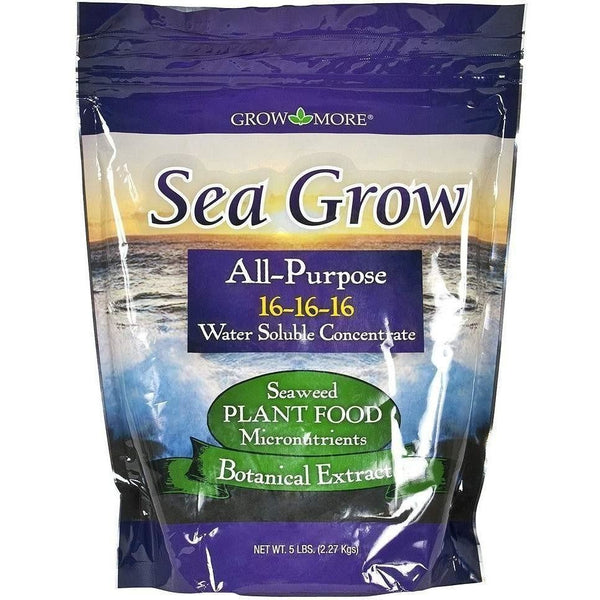 Grow More® Sea All Purpose 5 Lb Nutrients | Granular & Powder