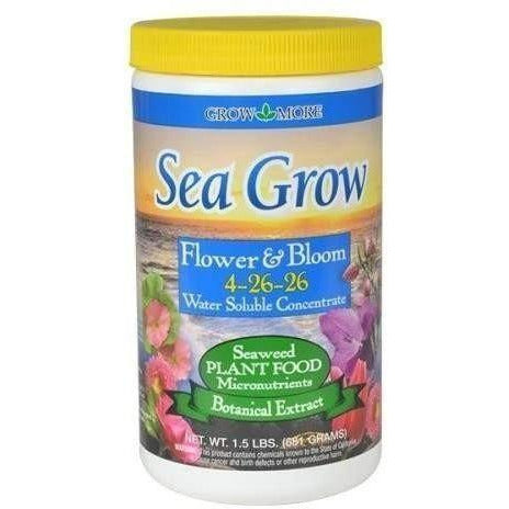 Grow More® Sea Flower & Bloom 1.5 Lb Nutrients | Granular Powder