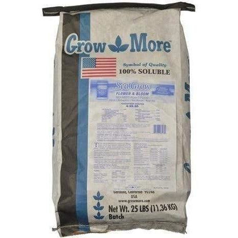 Grow More® Sea Flower & Bloom 25 Lb | Special Order Only Nutrients Granular Powder