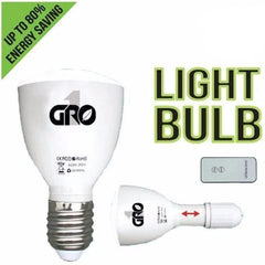 Grow1 Green LED 4 Watt Light Bulb / Flashlight with Remote Control