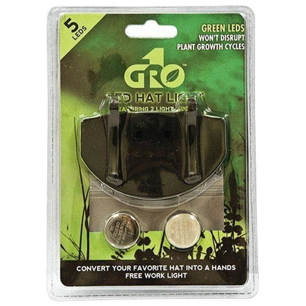 Grow1 Green LED Grow Room Hat Light