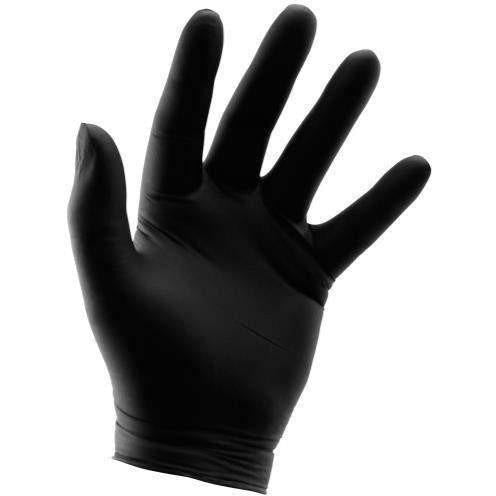 Grower's Edge® Black Powder Free Nitrile Gloves 6 mil, XX-Large | Box of 100