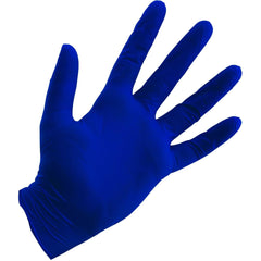 Grower's Edge® Blue Powder Free Nitrile Gloves 4 mil, Medium | Box of 100