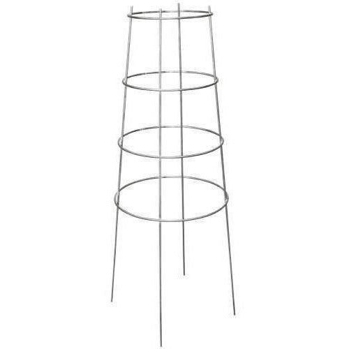 Growers Edge® Commercial Grade Inverted Tomato Cage 4 Ring 44 Plant Support | Cages