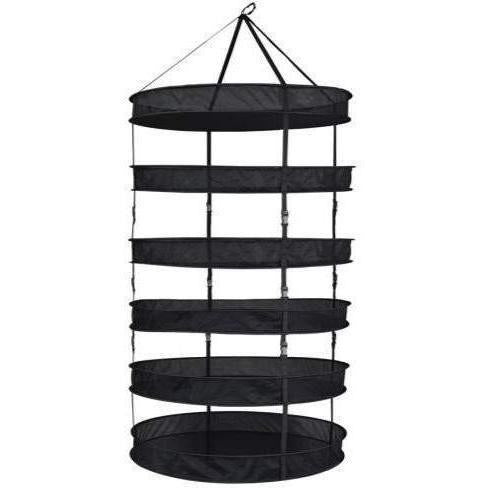 Grower's Edge® Dry Rack with Clips, 3'