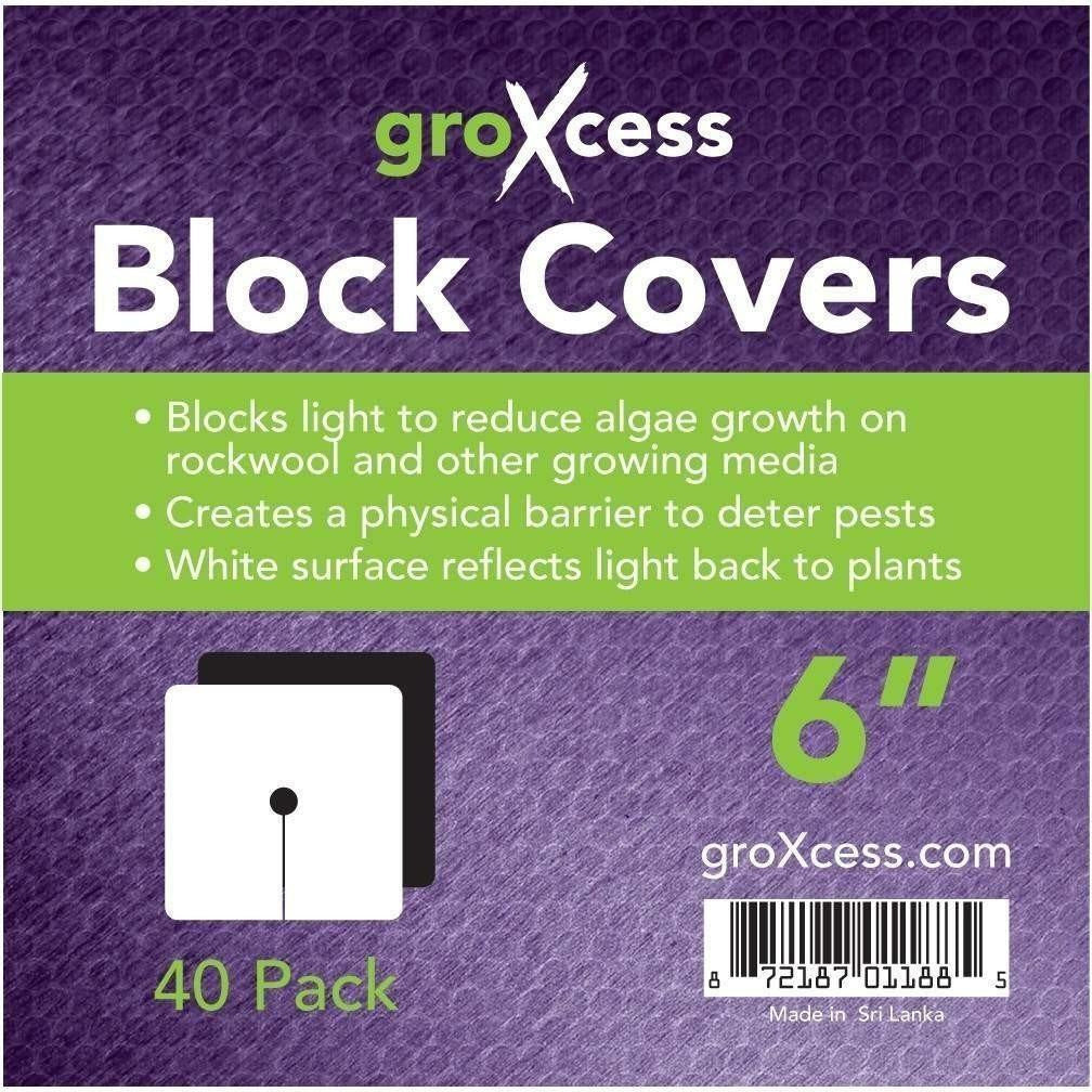 GroXcess® Block Cover, 6"