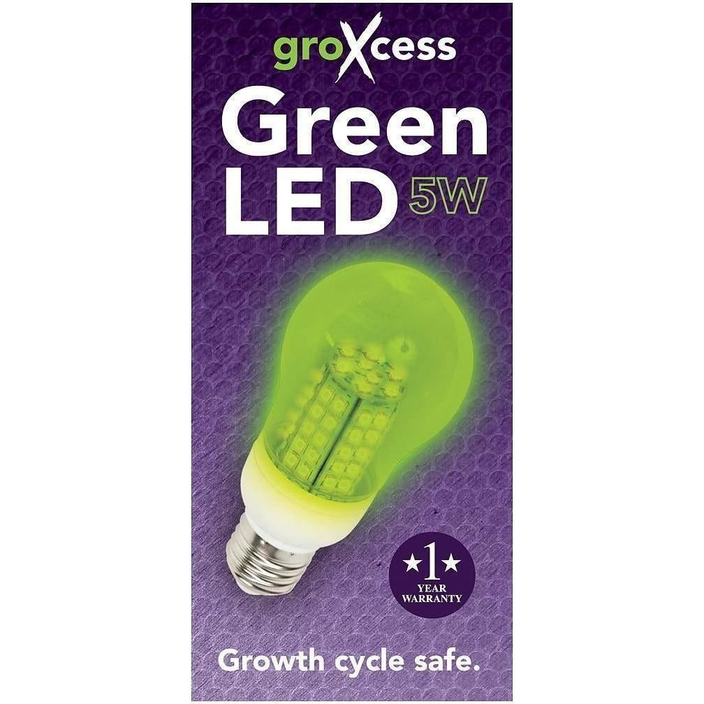 GroXcess® Green LED, 5W
