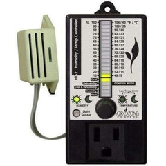 Grozone Control HT2 Climate Controller (Temp & RH) Single Output Bargraph Display | Special Order Only