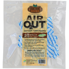 Harvest Keeper® Air OUT™ Oxygen Absorbers, 100 cc | Pack of 25