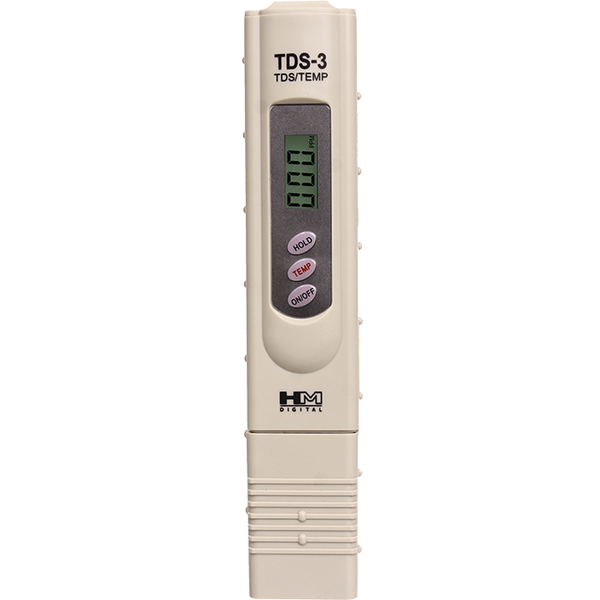 HM Digital® Handheld TDS Meter with Carrying Case
