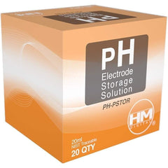 HM Digital pH Storage Solution, 20 mL | Pack of 20