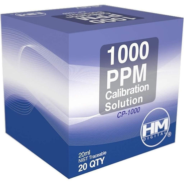 Hm Digital Tds/ec Calibration Solution 1000 Ppm 20 Ml | Pack Of Meters Solutions
