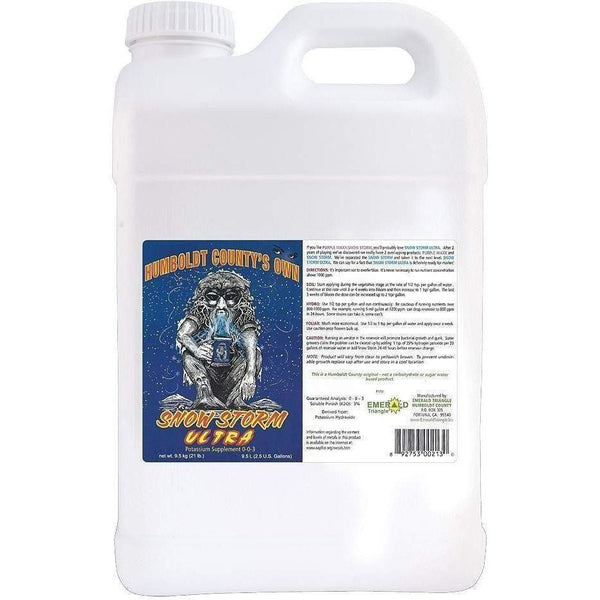 Humboldt Countys Own Snow Storm Ultra 2.5 Gal Nutrients | Liquid