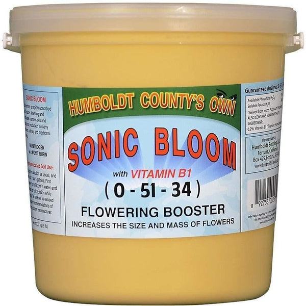 Humboldt Countys Own Sonic Bloom 5 Lb Nutrients | Granular & Powder
