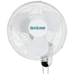 Hurricane® Classic Wall Mount Oscillating Fan, 16""