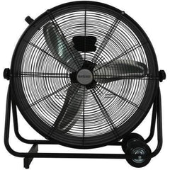 Hurricane® Pro High Velocity Metal Drum Fan, 24""