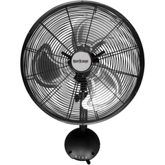 Hurricane® Pro High Velocity Oscillating Metal Wall Mount Fan, 16""