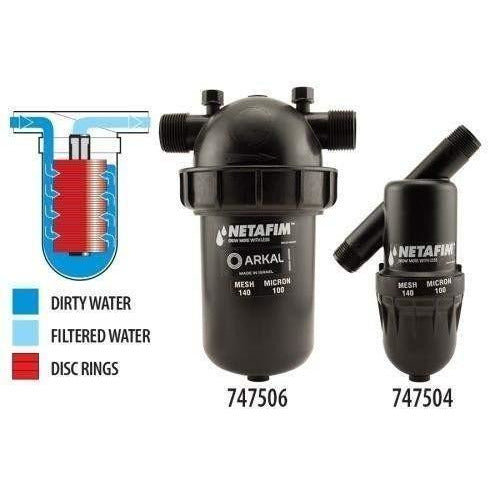Hydro Flow® / Netafim Disc 1-1/2 Long Mpt X 140 Mesh 44 Gpm Maximum Flow | Special Order Only Hydroponics Water Filters