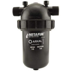 "Hydro Flow® / Netafim Disc Filter 1"" MPT x MPT 140 Mesh 22 GPM Maximum Flow 