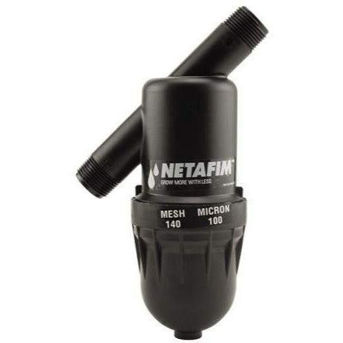 "Hydro Flow® / Netafim Disc Filter 3/4"" MPT x MPT 140 Mesh 17 GPM Maximum Flow 