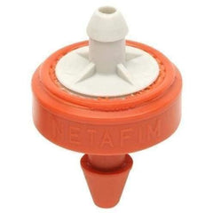Hydro Flow® / Netafim Woodpecker Pressure Compensating Junior Dripper 6.6 GPH (Orange/Grey) | Pack of 25