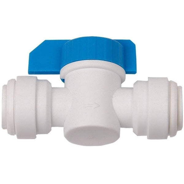 Hydrologic® Quick Connect Inline Shut-Off Valve 3/8 Water Purification | Parts & Fittings