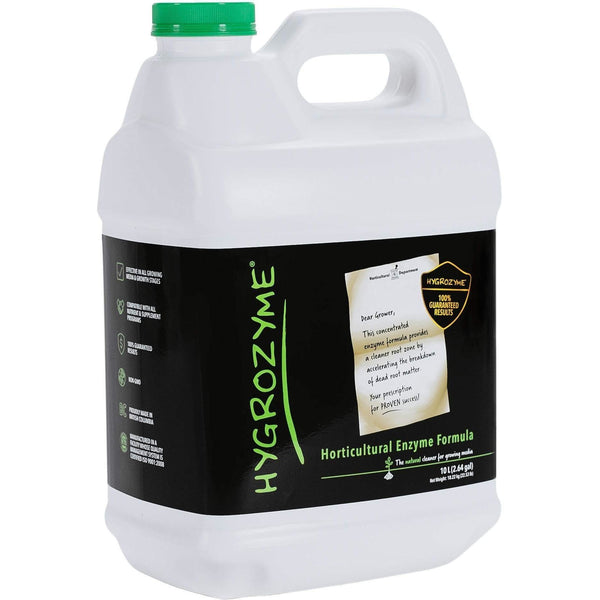 Hygrozyme Horticultural Enzymatic Formula 10L Hydroponics | Cleaners & Treatments