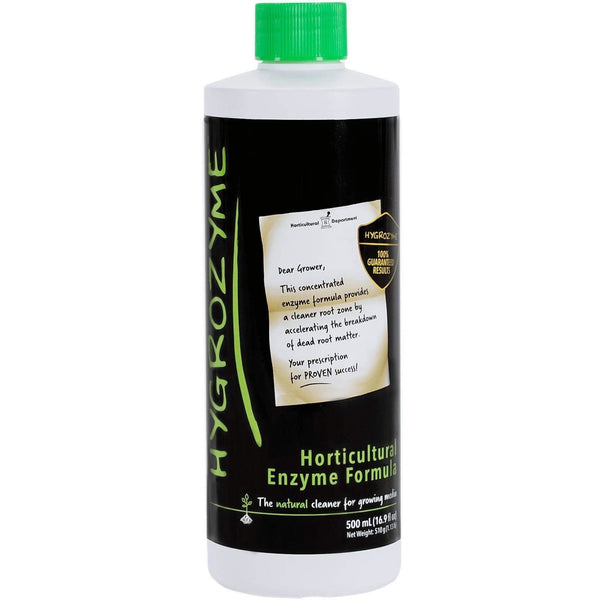 Hygrozyme Horticultural Enzymatic Formula 500 Ml Hydroponics | Cleaners & Treatments