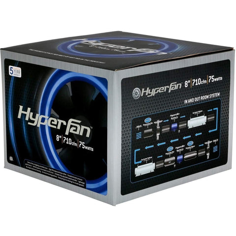 Hyper Fan® Digital Mixed Flow Fan, 710 CFM 8""