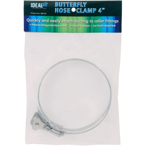 Ideal-Air™ Butterfly Hose Clamp, 4"